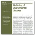 Mediation of Environmental Disputes.pdf